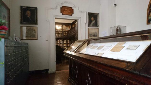 Pesaro, Biblioteca Oliveriana, sala Olivieri