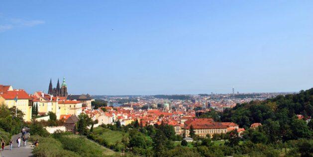 Praga, biblioteca del monastero di Strahov: panorama