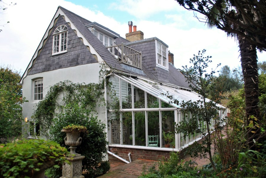 Monk's House, Rodmell, Virginia Woolf: casa