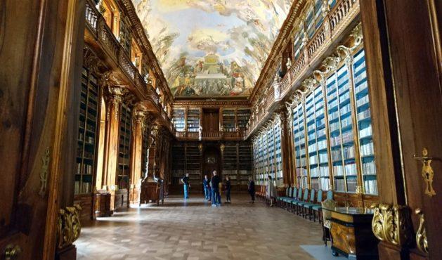 Praga, biblioteca del Monastero di Strahov: Sala Filosofica