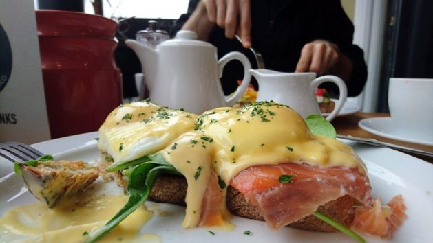 Brunch da Mott & Bailey, Arundel