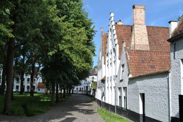 Viaggio letterario a Bruges, beghinaggio