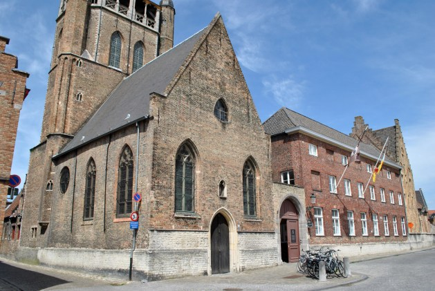 Viaggio letterario a Bruges, cappella di Gerusalemme