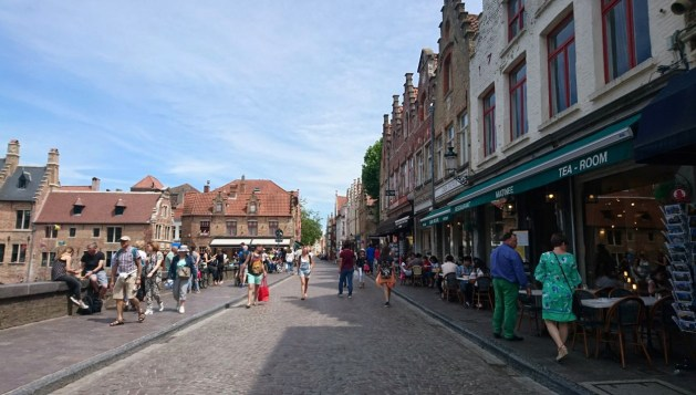 Viaggio letterario a Bruges, Rozenhoedkaai
