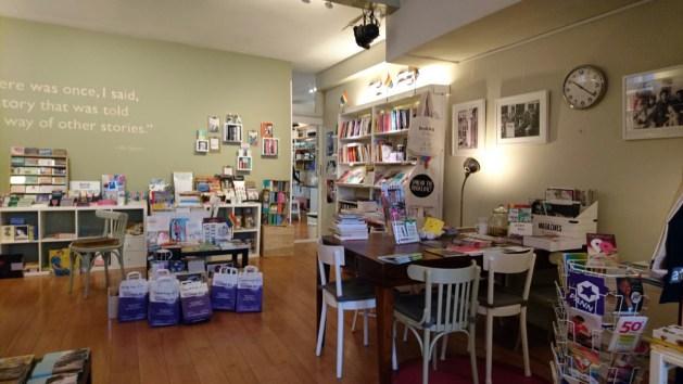 Utrecht, libreria Savannah