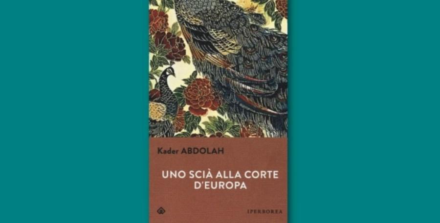 Particolare copertina libro Uno scià alla corte d'Europa, Iperborea