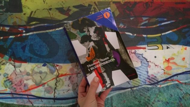 I Buddenbrook, libro, copertina edizione Mondadori