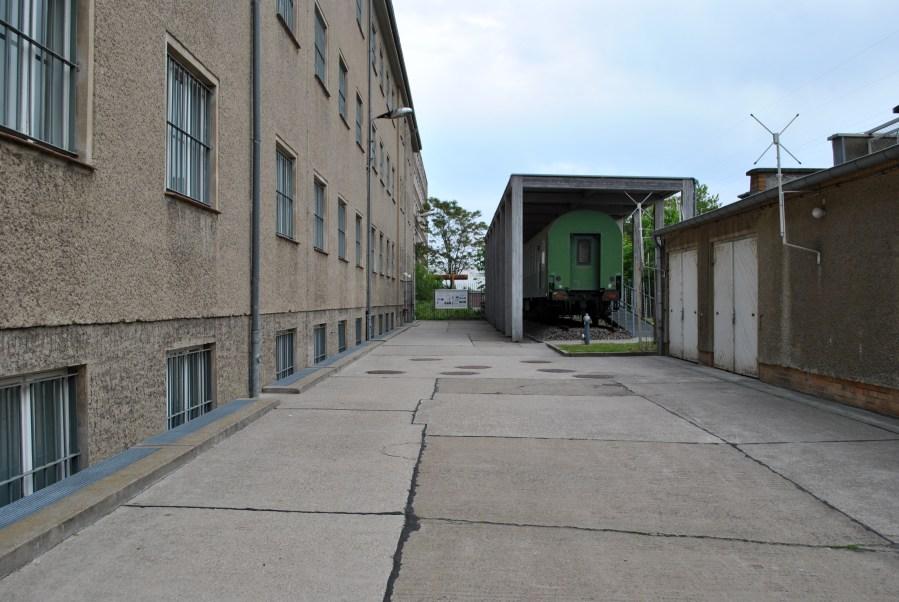 prigione di Hohenschönhausen, Berlino, esterno