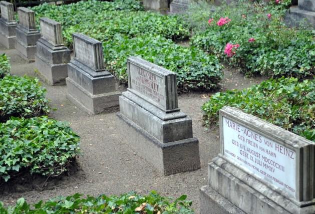 Schloss Tegel, cimitero di famiglia, tomba di Alexander von Humboldt