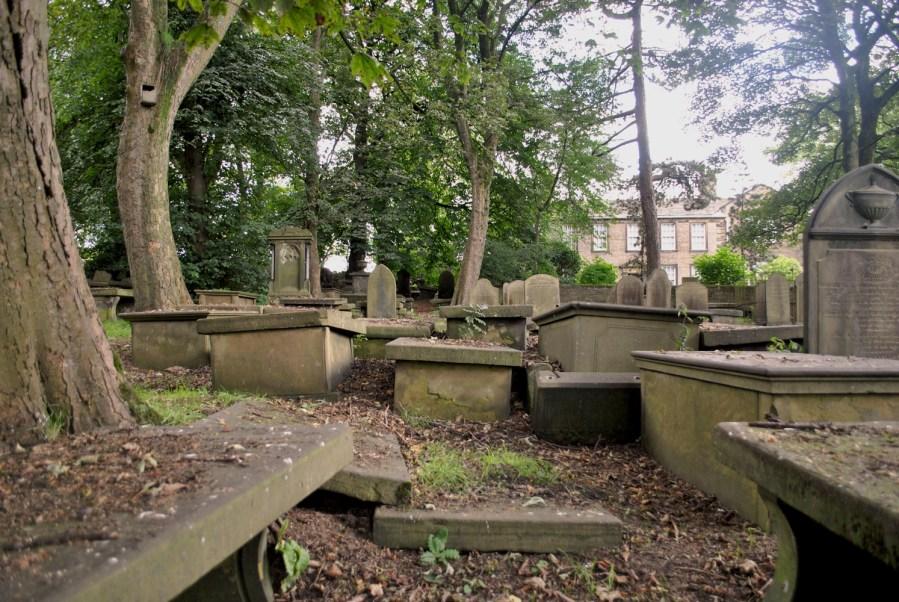 Haworth, cimitero in Church Street