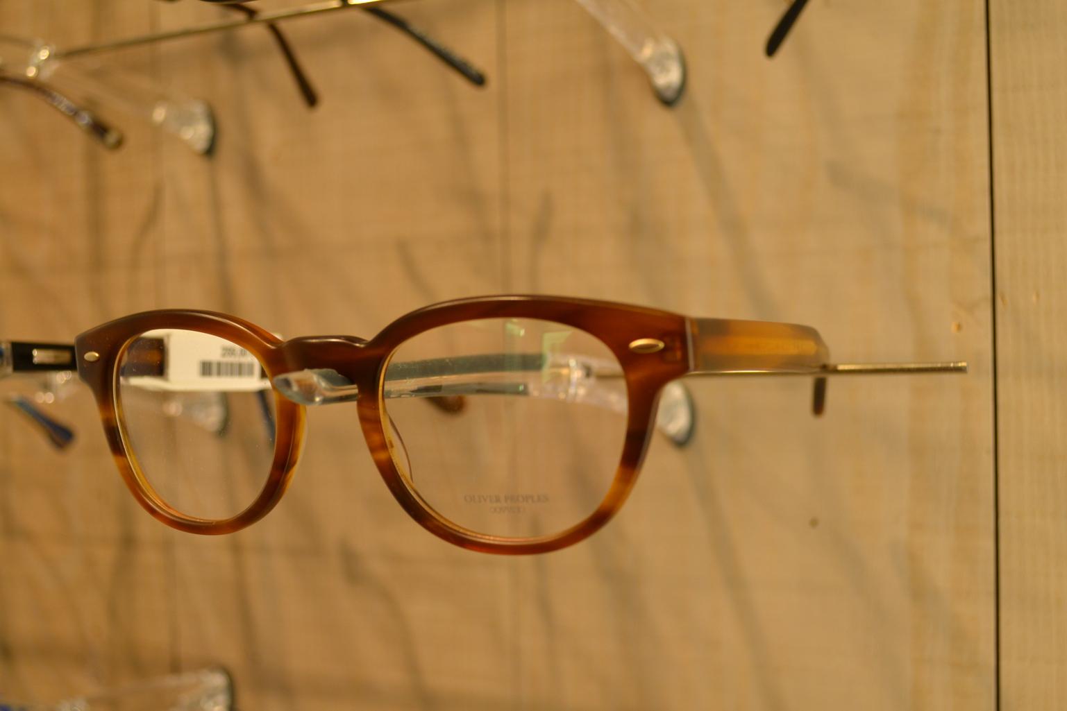 lunettes marron