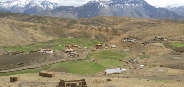 Kaza village spiti valley
