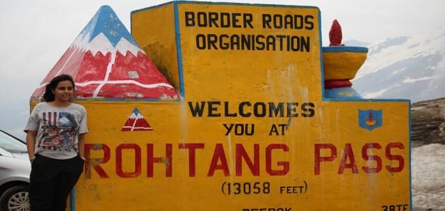 Rohtang pass manali spiti valley