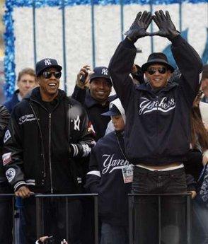 NY Yankees 5 A Rod J Z