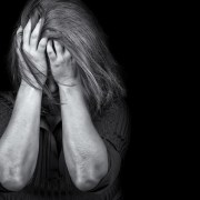 young woman depressed and angry