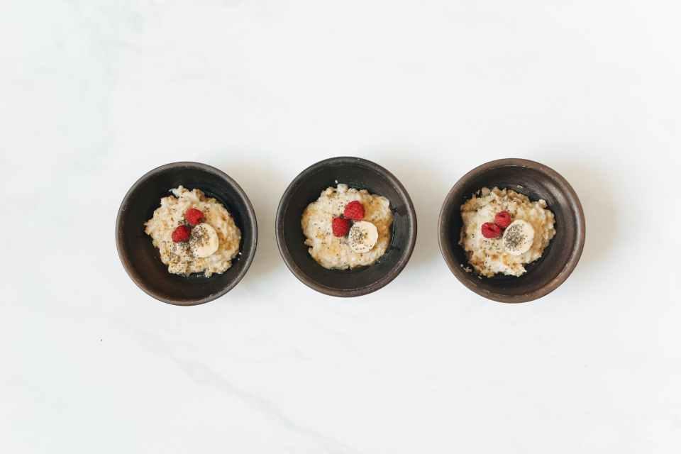 healthy breakfast ideas - protein oatmeal