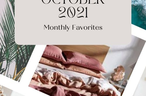October Monthly Favorites | Fall Trends 2021