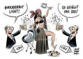 Schwarwel: Burka light