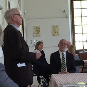 Axel Unnerbäck talar - foto Christopher Gessner