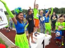 Winnaars 2,5km meisjes