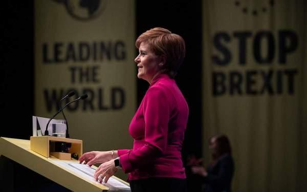 Η πρωθυπουργός της Σκωτίας Νίκολα Στέρτζον