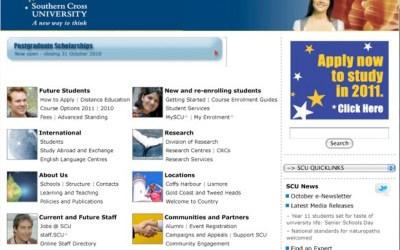 SCU Home Page