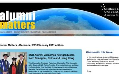 SCU Alumni Matters eNews