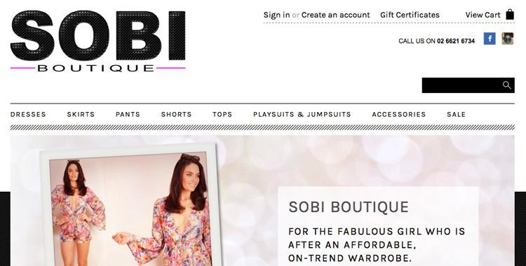 Sobi Boutique Lismore