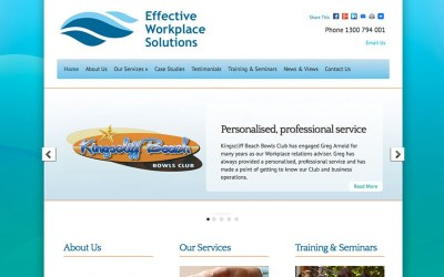 A brand new website for Effective Workplace Solutions