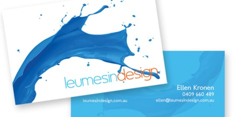 Leumesin Design Business Cards