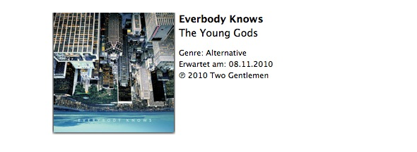everybody knows - the young gods album