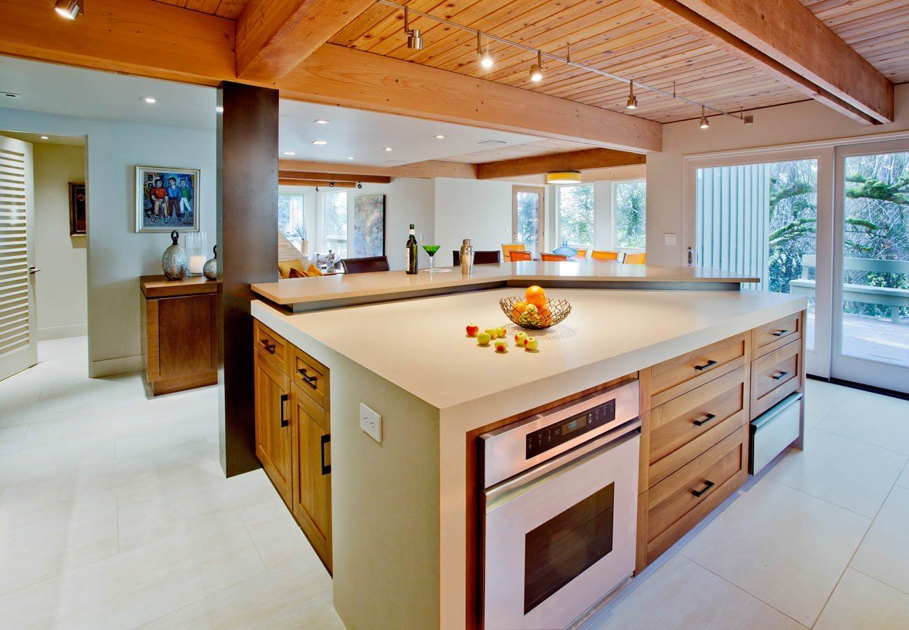 Attirant Modern Kitchen Design Portland