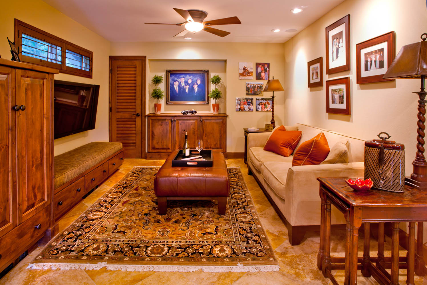 Enhanced-Italian-Traditional living room concept