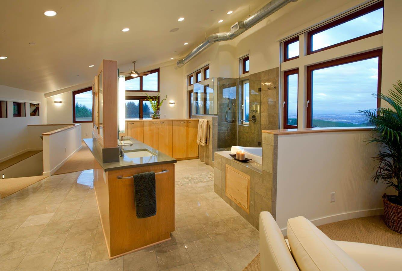 Northwest-Contemporary total bathroom makeover