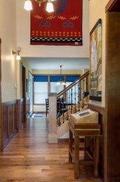 Craftsman entryway to Portland home