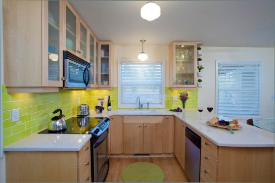 Retro-Transitional kitchen concept