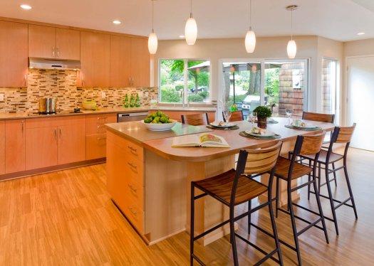 Modern-Transitional dining room makeover