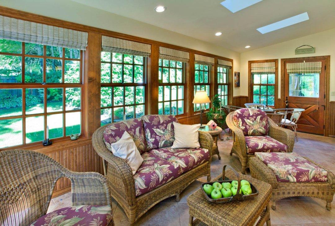 Traditional interior design concept