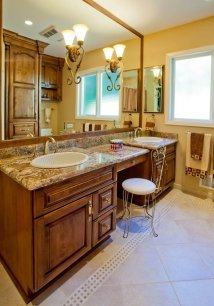 Eloquent-Tradition double vanity remodel