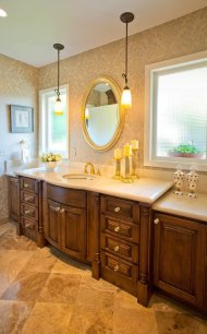 Eloquent-Tradition bathroom idea and design