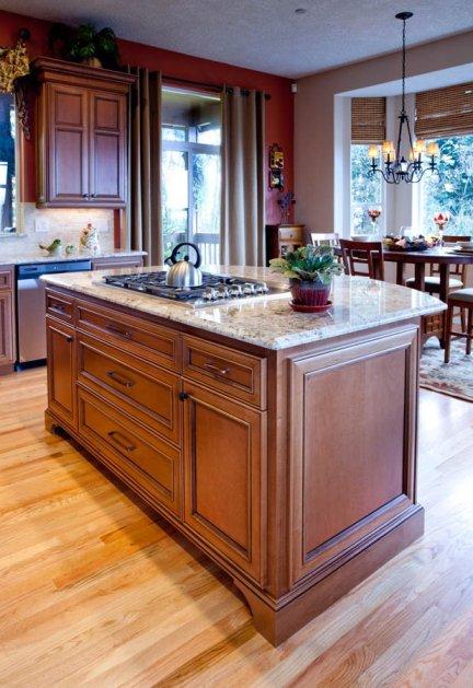 Northwest-Modern kitchen island