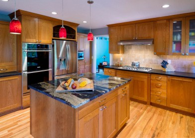 Craftsman-Traditional kitchen makeover