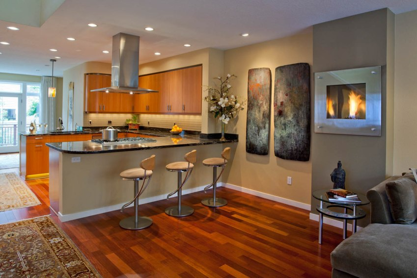 Asian-Flair concept dining room