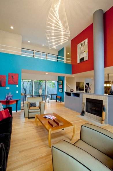 Ubo-Contemporary Portland Living Room Interior Design