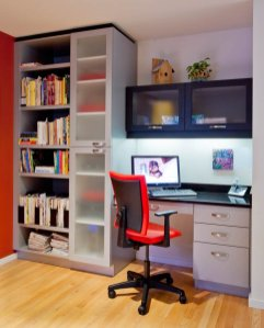 Ubo-Contemporary home office interior design in Portland