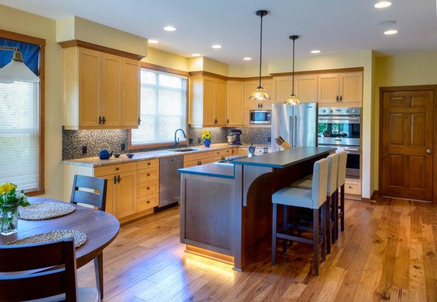 Craftsman whole kitchen remodel
