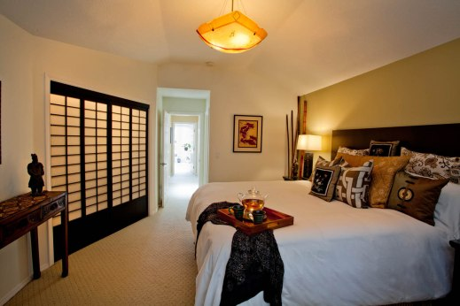 Contemporary-Asian Bedroom Interior Design