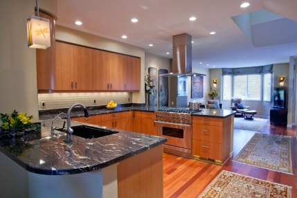 Asian-Flair kitchen remodel