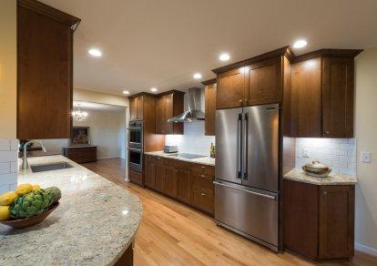 Green Bluff Kitchen 1