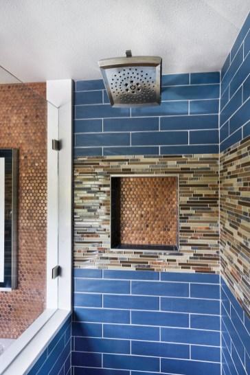 Remodeled shower in Portland Oregon